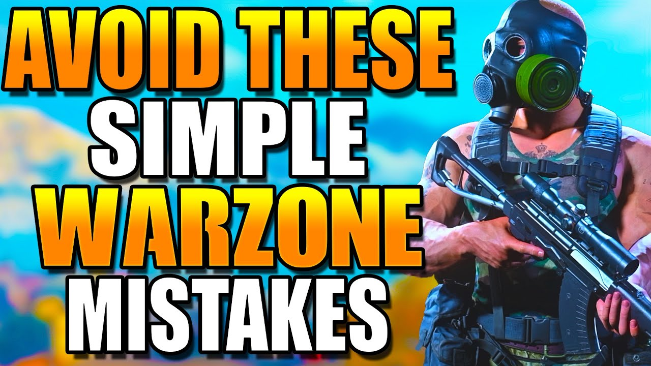 AVOID These SIMPLE Mistakes In WARZONE! Get BETTER at WARZONE! Warzone Tips! (Warzone Training)