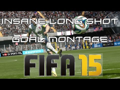 Fifa 15 - Insane Long shot Goal Montage