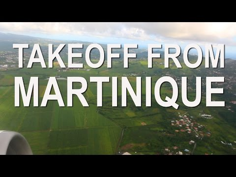Norwegian Air Takeoff from Martinique FDF