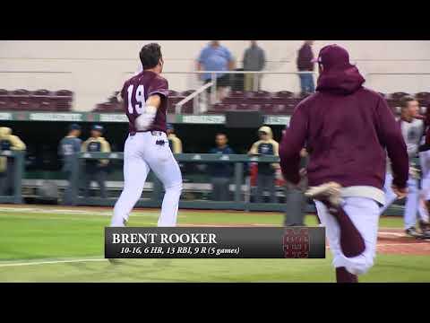 Rooker's 6 homers, 13 RBIs Earn Gold Standard