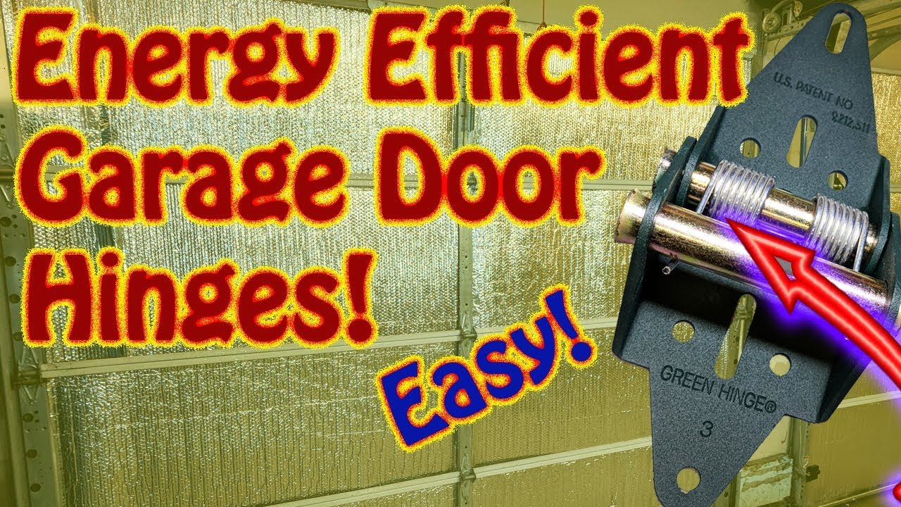 Diy how to install green energy efficient garage door for Energy efficient garage doors