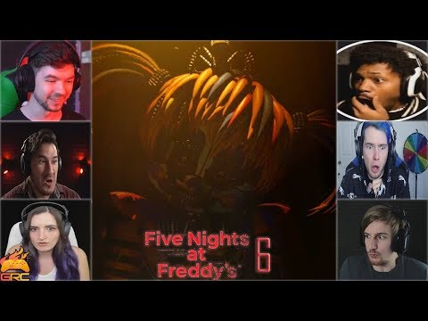 Gamers Reactions to 3... 2...1... (Scrap Baby) | Fazbear's Pizzeria Simulator (FNAF 6)