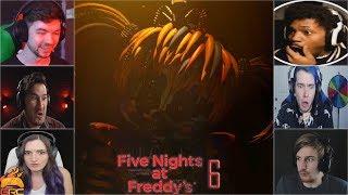 - Gamers Reactions to 3... 2...1... Scrap Baby Fazbear s Pizzeria Simulator FNAF 6