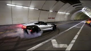 WE TOOK OVER LA! Brutal Accelerations & Donuts FT. DailyDrivenExotics