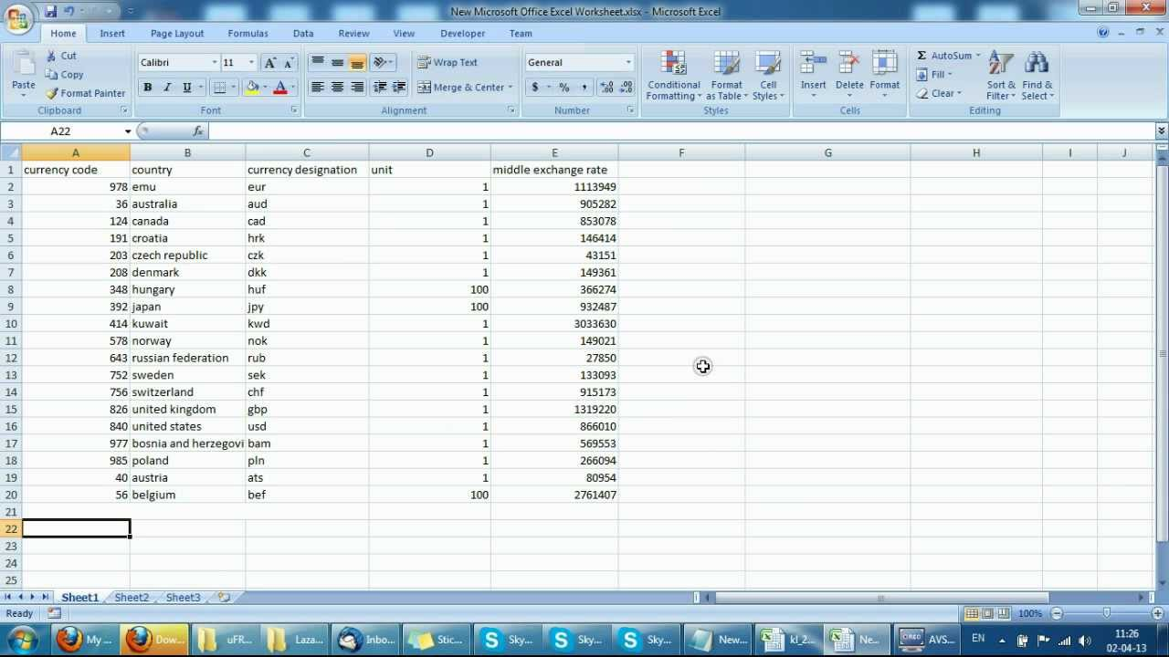 Recording Excel Table To Rfid Card And Exporting From Rfid