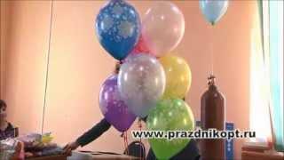 Урок 2. Создание основы и букета из ввоздушных шаров