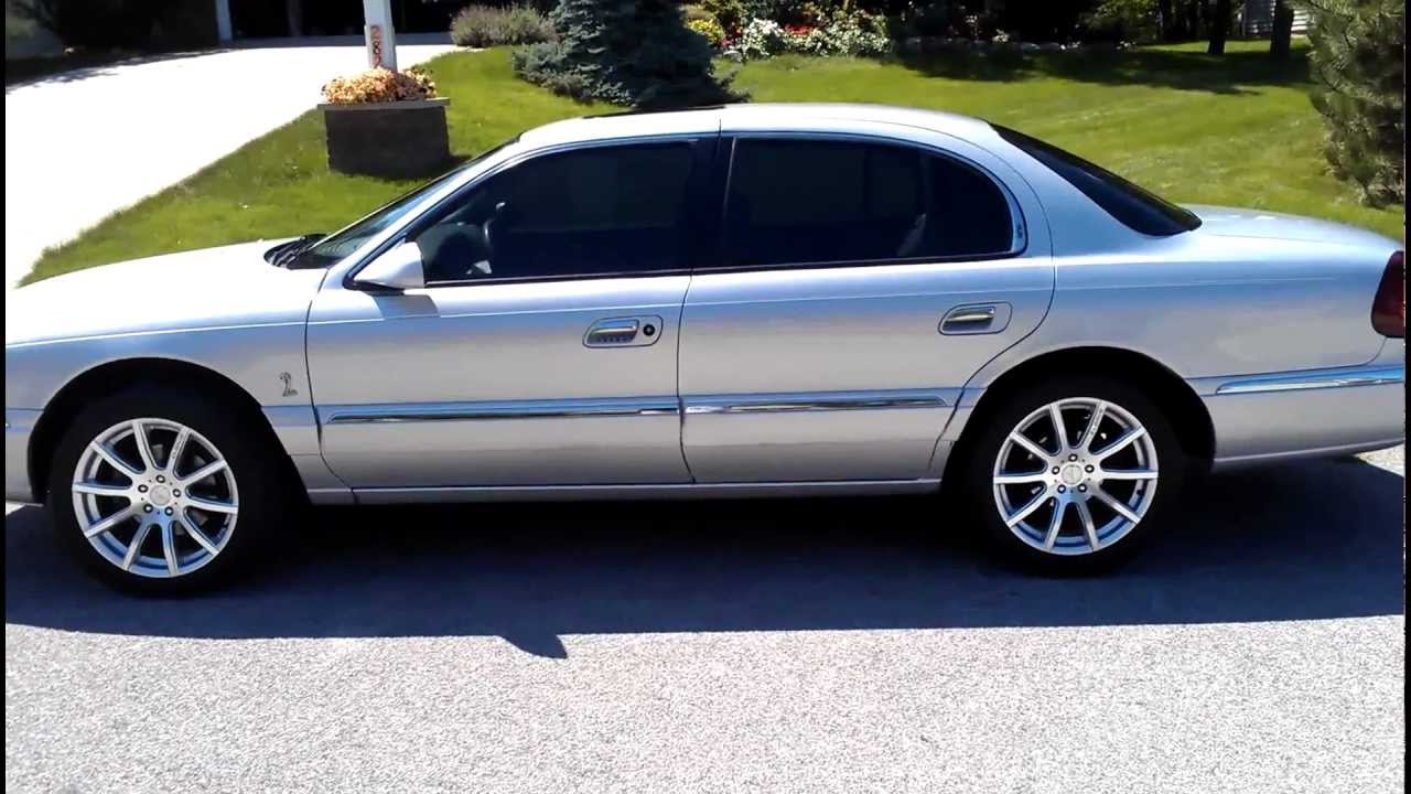 2001 lincoln continental with tinted windows 20 and 15 for 18 percent window tint