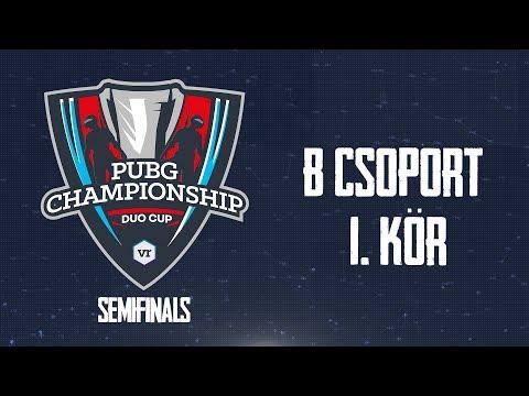 B csoport - 1. kör | TheVR PUBG Championship - DUO Cup | ELŐDÖNTŐ - 12.09.