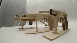 Сборные модели оружия TARG - деревянные конструкторы, 3D пазлы