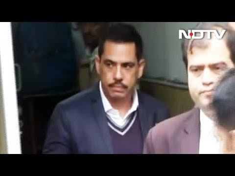 Robert Vadra Questioned For Third Time In Money Laundering Case