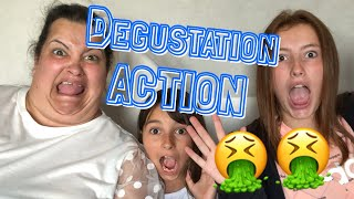🤮🤮DÉGUSTATION ACTION🤢🤢