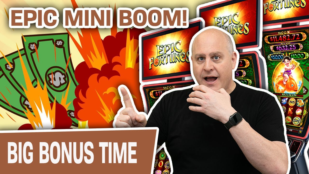 💥 EPIC Mini Boom Playing EPIC Fortunes 💚 THIS Is Why I LOVE THIS SLOT MACHINE