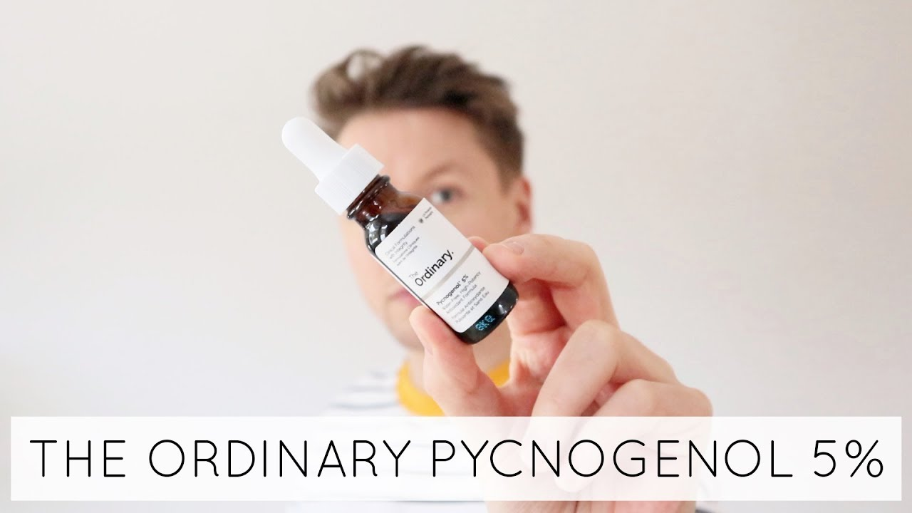 The Ordinary Pycnogenol 5 Review James Just Now Youtube