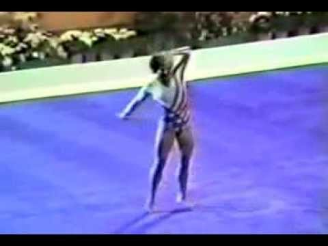 Mary Lou Retton FX EF- 1984 Olympic Games