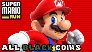 Super Mario Run: All Black Coins