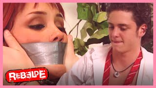 Rebelde: ¡Diego secuestra a Roberta! | Escena C296-C297-C298 | Tlnovelas