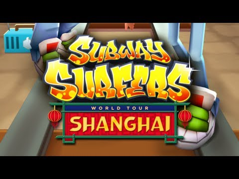 SUBWAY SURFERS SHANGHAI CHINA LEE SILK OUTFIT RICKSHAW BOARD Gameplay Android  iOS