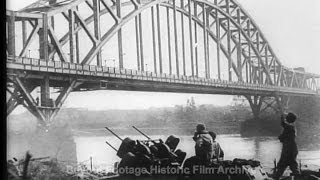 Historic Archival Stock Footage WWII - Bridgehead Extended At Remagen