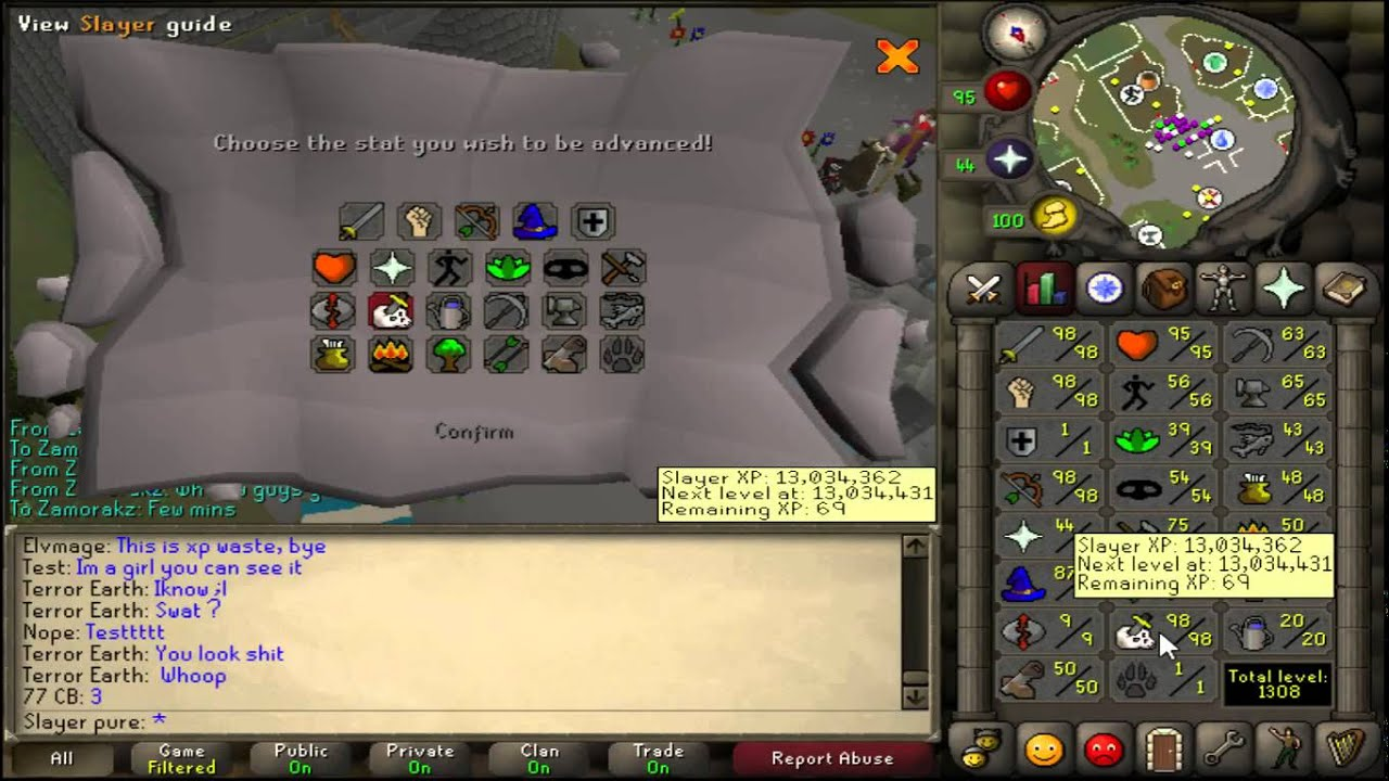 1 defence untrimmed slayer oldschool runescape slayer for Runescape exp table 1 99