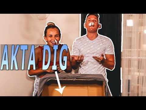 WHATS IN THE BOX CHALLENGE | ANNA & KRISTIAN