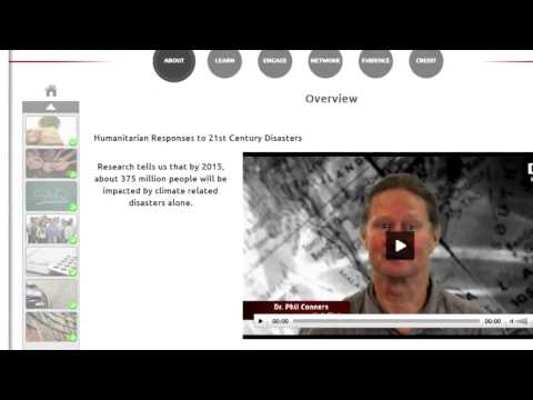 MOOC Humanitarian Responses to 21st Century Disasters