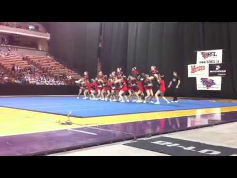 Blue Ridge High School Varsity Cheerleaders