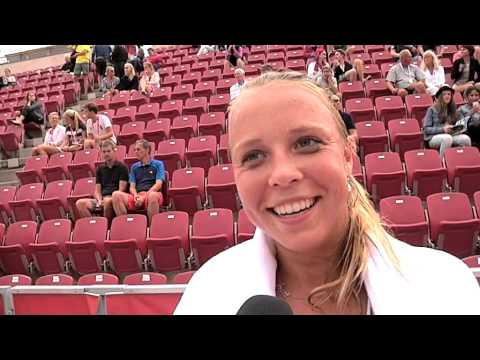 Anett Kontaveit won - Cornet is out