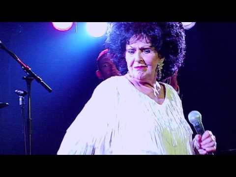 Wanda Jackson live at the Waterfront Rotterdam.