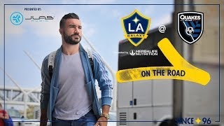 LA Galaxy travel North to San Jose | On the Road - presented by JLab Audio