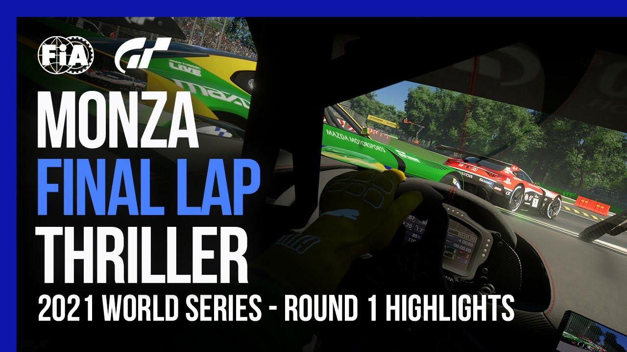 Monza Final Lap Thriller | Gran Turismo Sport 2021 World Series Highlights