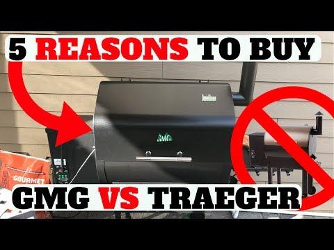 TOP 5 REASONS TO BUY GREEN MOUNTAIN GRILL VS TRAEGER! (SUMMER 2017 PELLET SMOKER)