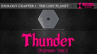 [EXO/1CD] 14. THUNDER [EXOLOGY CHAPTER 1: THE LOST PLANET]