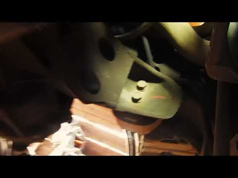 Снятие коробки передач Деу Нексия / Removing the transmission Daewoo Nexia