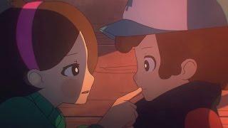 Аниме Gravity Falls Близнецы Навсегда Twins Forever Animation RUS