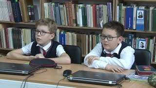 Урок безопасности в Интернете. Гимназия №1 (Новосибирск)