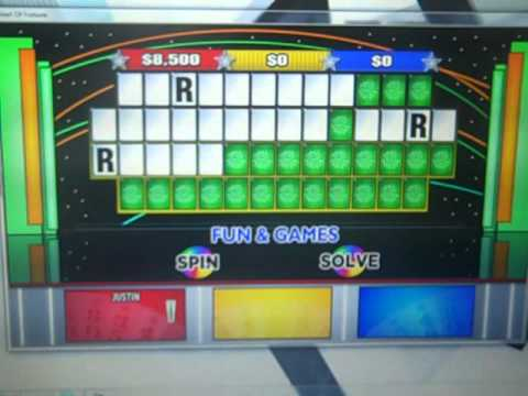Bigjohns wheel of fortune game 5 youtube