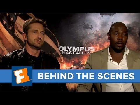 Olympus Has Fallen: Exclusive Interview | Behind The Scenes | FandangoMovies