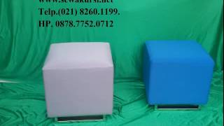 Puff Chair RENTING Dan High Table & Barstool IN Jakarta