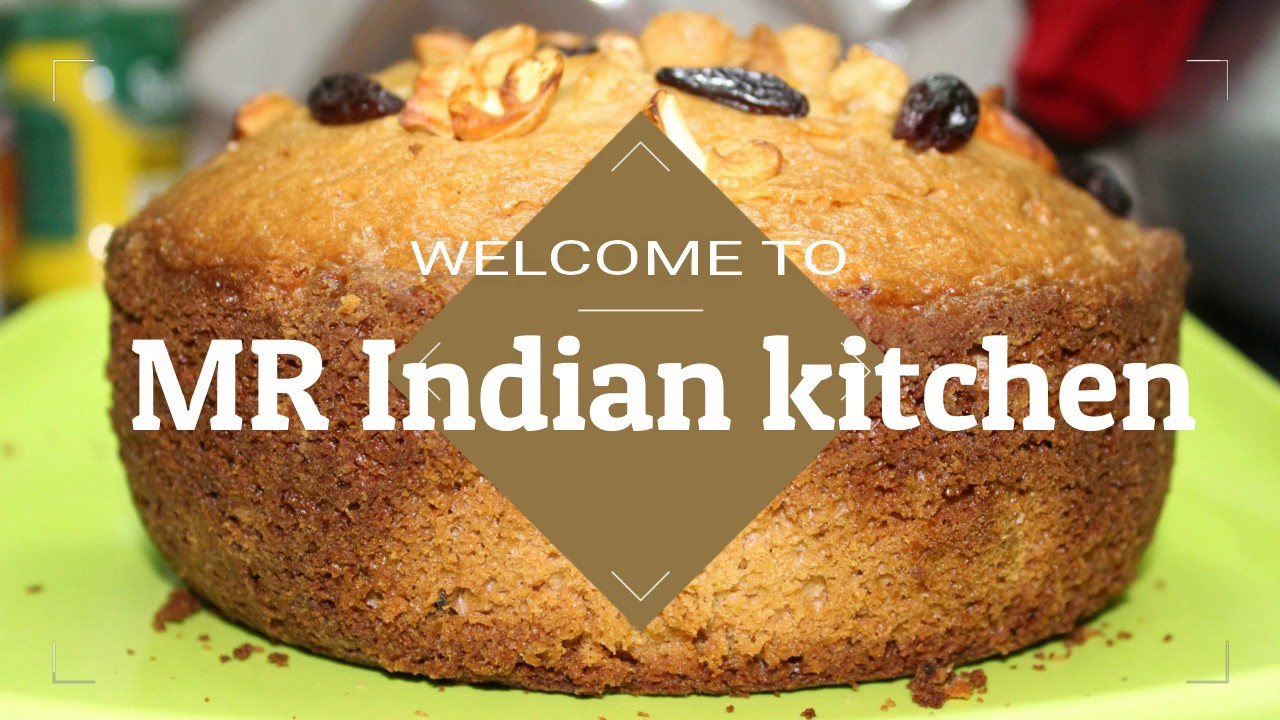 Simple And Easy Sponge Cake In Pressure Cooker Bengali Recipe Ll