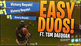 TSM Myth - EASY WINS WITH TSM DAEQUAN!! (Fortnite BR Full Match)