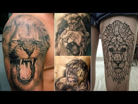 25 Exceptional Lion Tattoos for Summer Days
