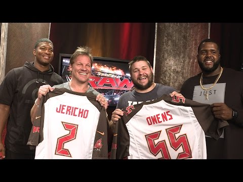 Tampa Bay Buccaneers' Jameis Winston and Donovan Smith have surprises for Superstars: June 27, 2016