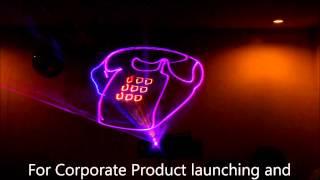 NEW Laser 3D Animation and Laser Light Show by Laserman JB dela Cruz, Philippines