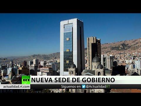 Bolivia inaugura su nueva sede de  Gobierno, la Casa Grande del Pueblo