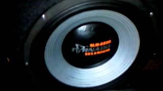 "selenium tornado 15"" y soundigital SD2500"
