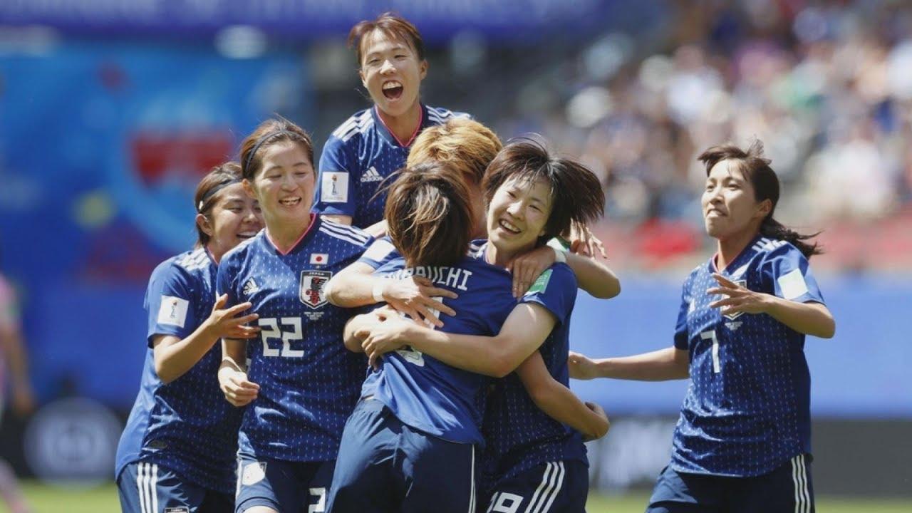 なでしこ今大会初勝利 サッカー女子w杯フランス大会