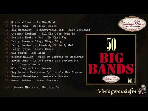 50 Big Bands. Swing Dance (Full Album/Álbum Completo) Vol. 1