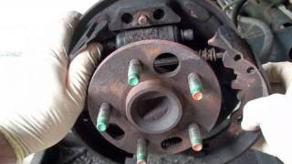 How To Replace Drum Brake Shoes (Full) - EricTheCarGuy