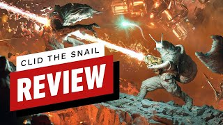 Clid the Snail Review (Video Game Video Review)