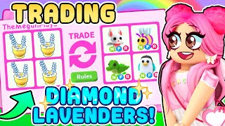 TRADING ONLY DIAMOND LAVENDER! Roblox Adopt Me Ladybug Update